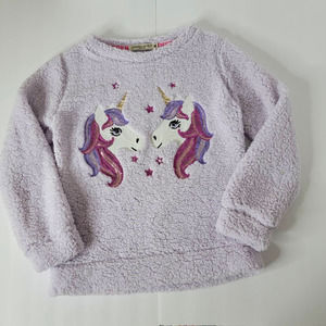 Chance or Fate Unicorn Pullover Sweater Girls XL